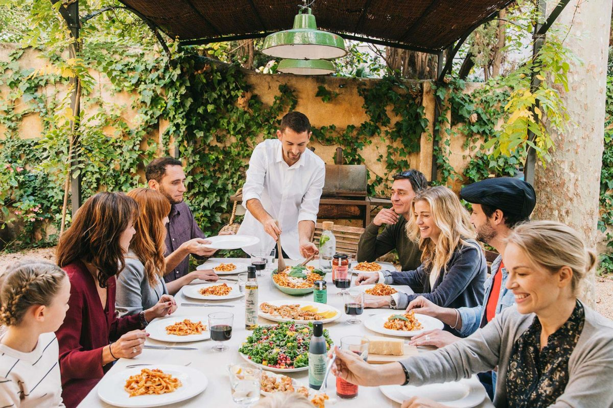 Sharing: Friends, Laughter and Dining Al Fresco — Delicious & Sons