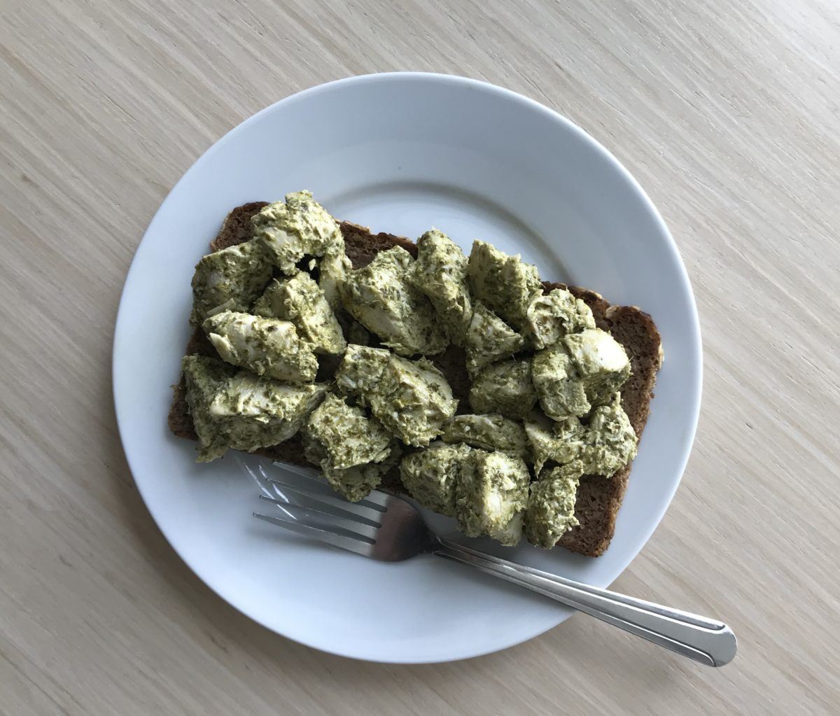 Pesto Chicken Salad by Meryl Rothstein — Delicious & Sons