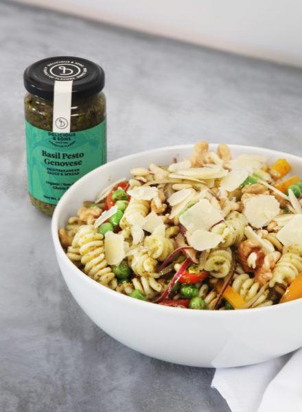 Pasta-Salad-Peas-Pesto-Genovese-Alberto-Rey