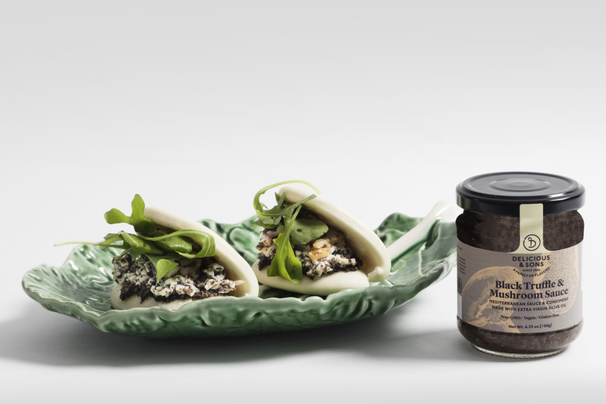 Black Truffle Chicken Bao — Delicious & Sons