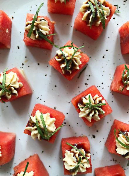 Watermelon-Bites-&-White-truffle-glaze
