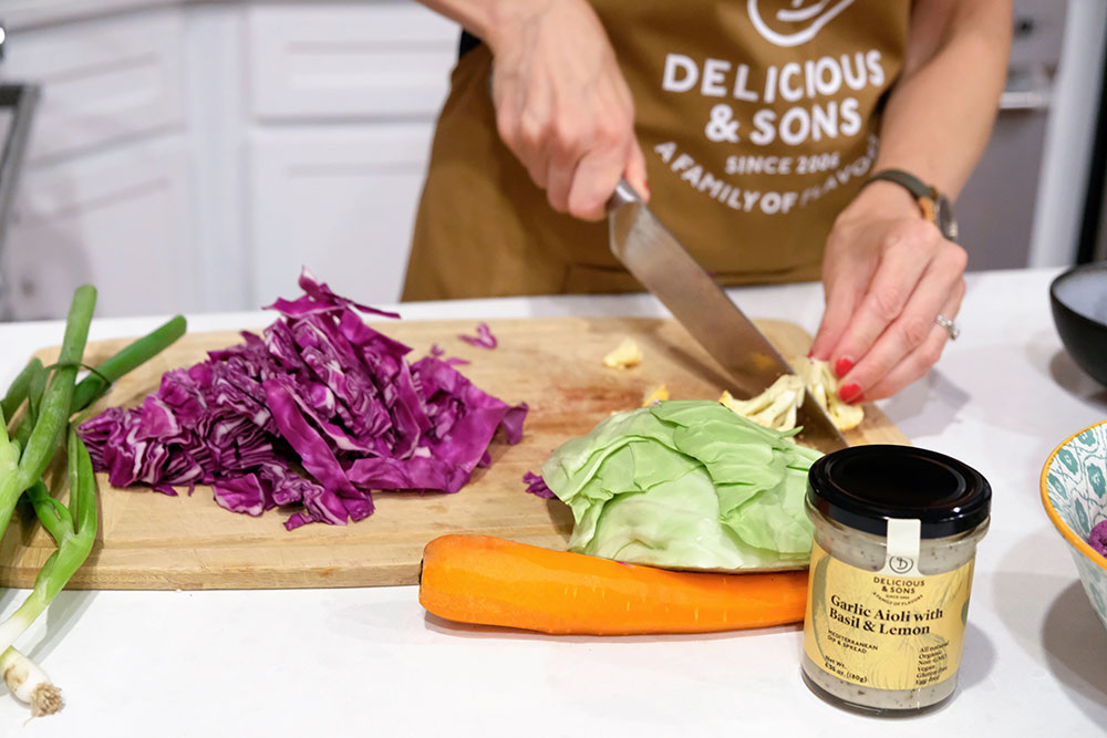 Spicy Peanut Aioli Salad Dressing by Courtney Zofness — Delicious & Sons