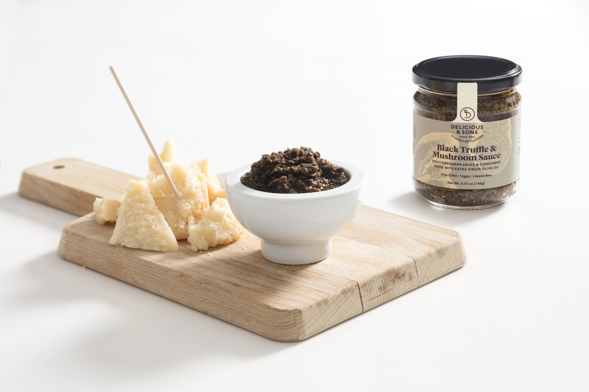 Black Truffle Dip with Parmesan by Mónica Navarro — Delicious & Sons