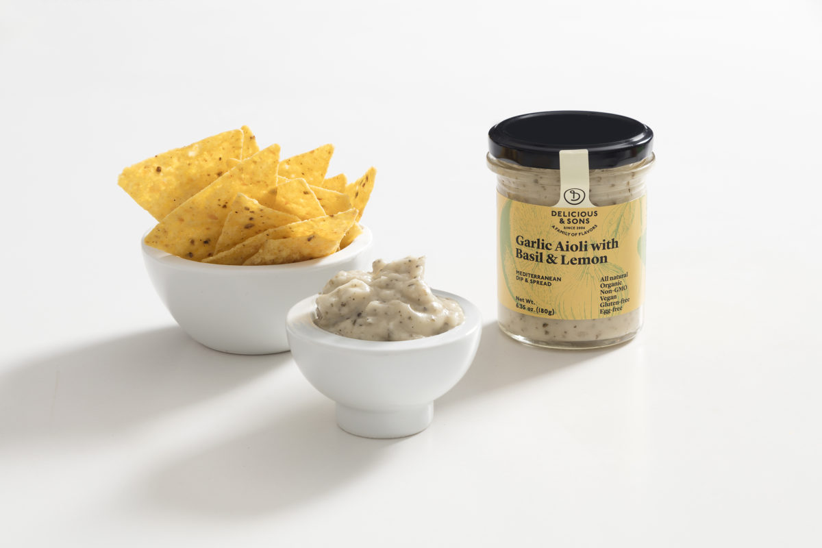 Basil & Lemon Aioli Dip By Monica Navarro — Delicious & Sons