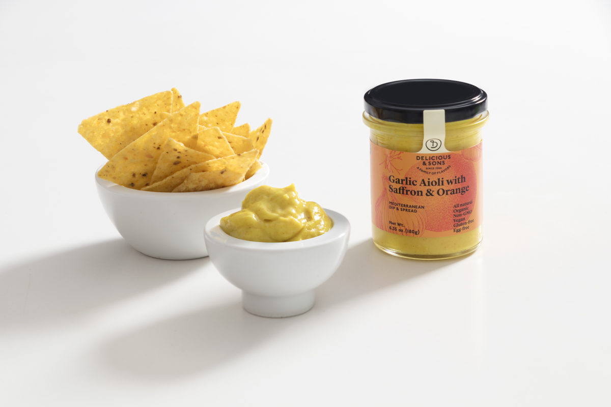 Saffron & Orange Aioli Dip by Monica Navarro — Delicious & Sons