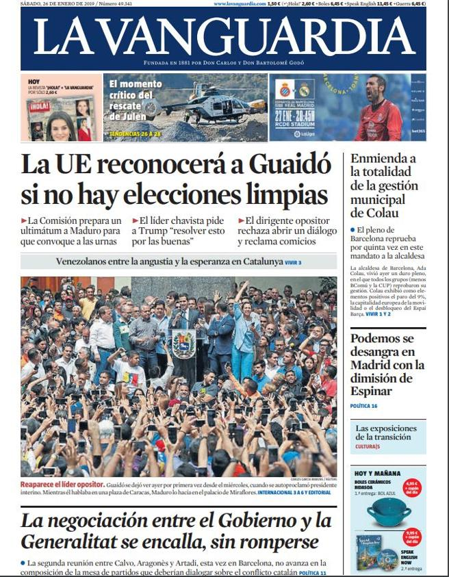 La-Vanguardia-Cover-January-2019