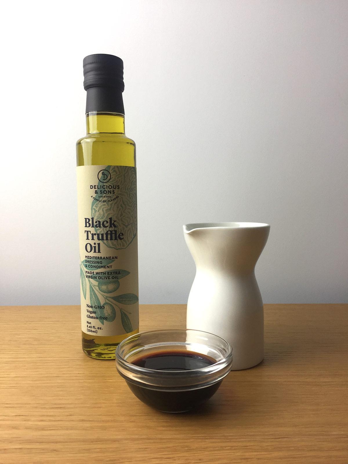Salsa de Soja con Trufa por Ricky Mandle — Delicious & Sons