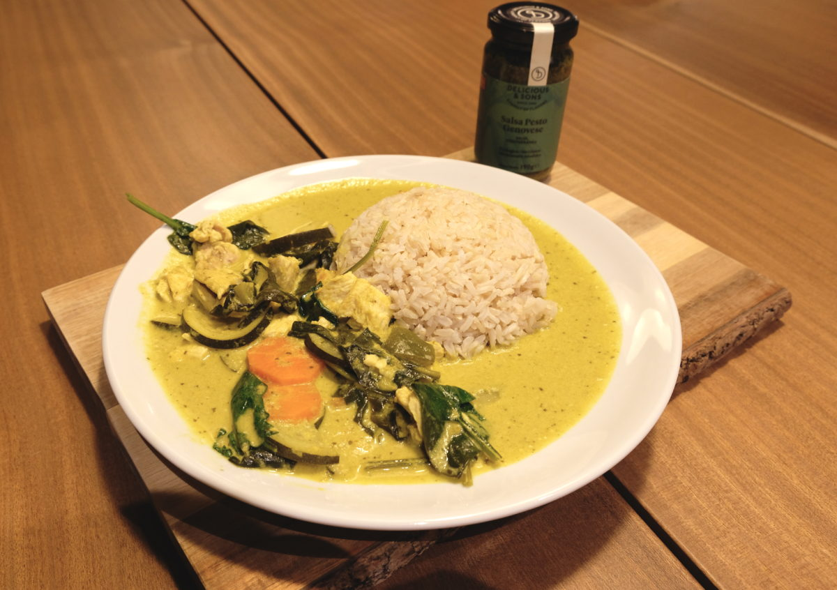 Thai Green Curry with Pesto by Ricky Mandle — Delicious & Sons