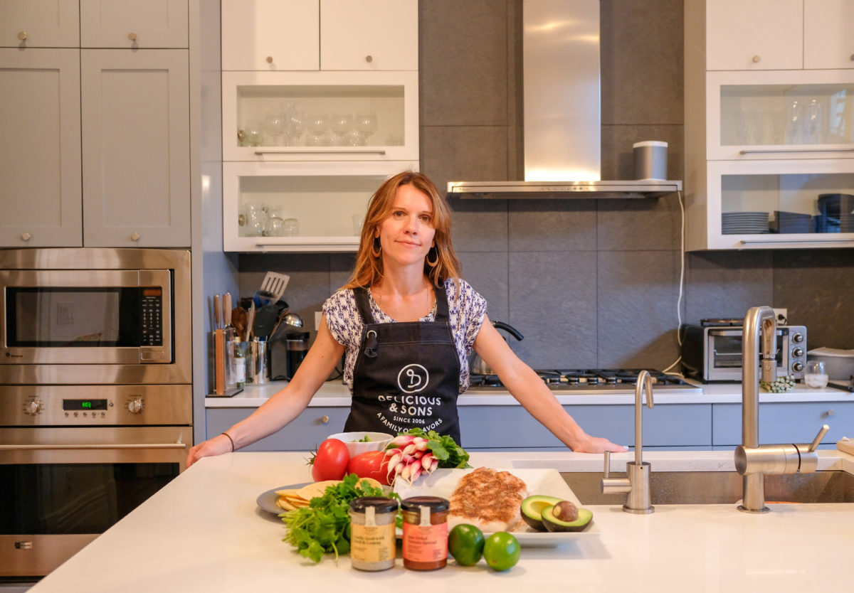 Cooking with Amy Quinn – Yoga Teacher & Social Justice and Human Rights Advocate — Delicious & Sons