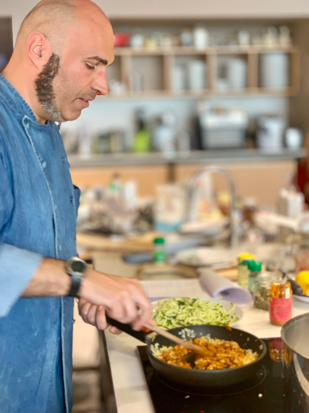 Cooking with Alf Mota – Chef and Teacher of healthy and therapeutic cooking — Delicious & Sons