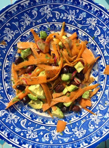 Carrot-and-avocado-salad