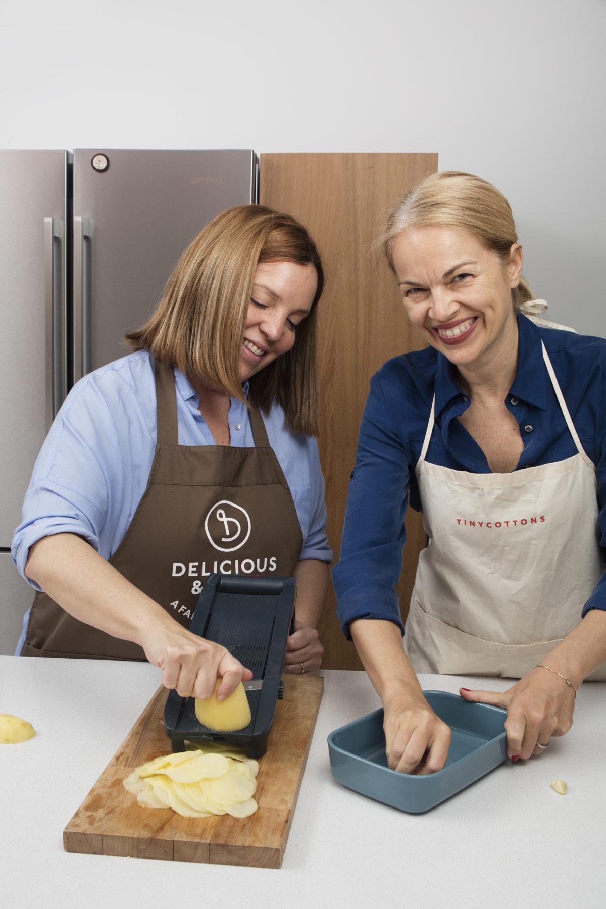 Cocinando con Bárbara Bruno de Tiny Cottons — Delicious & Sons