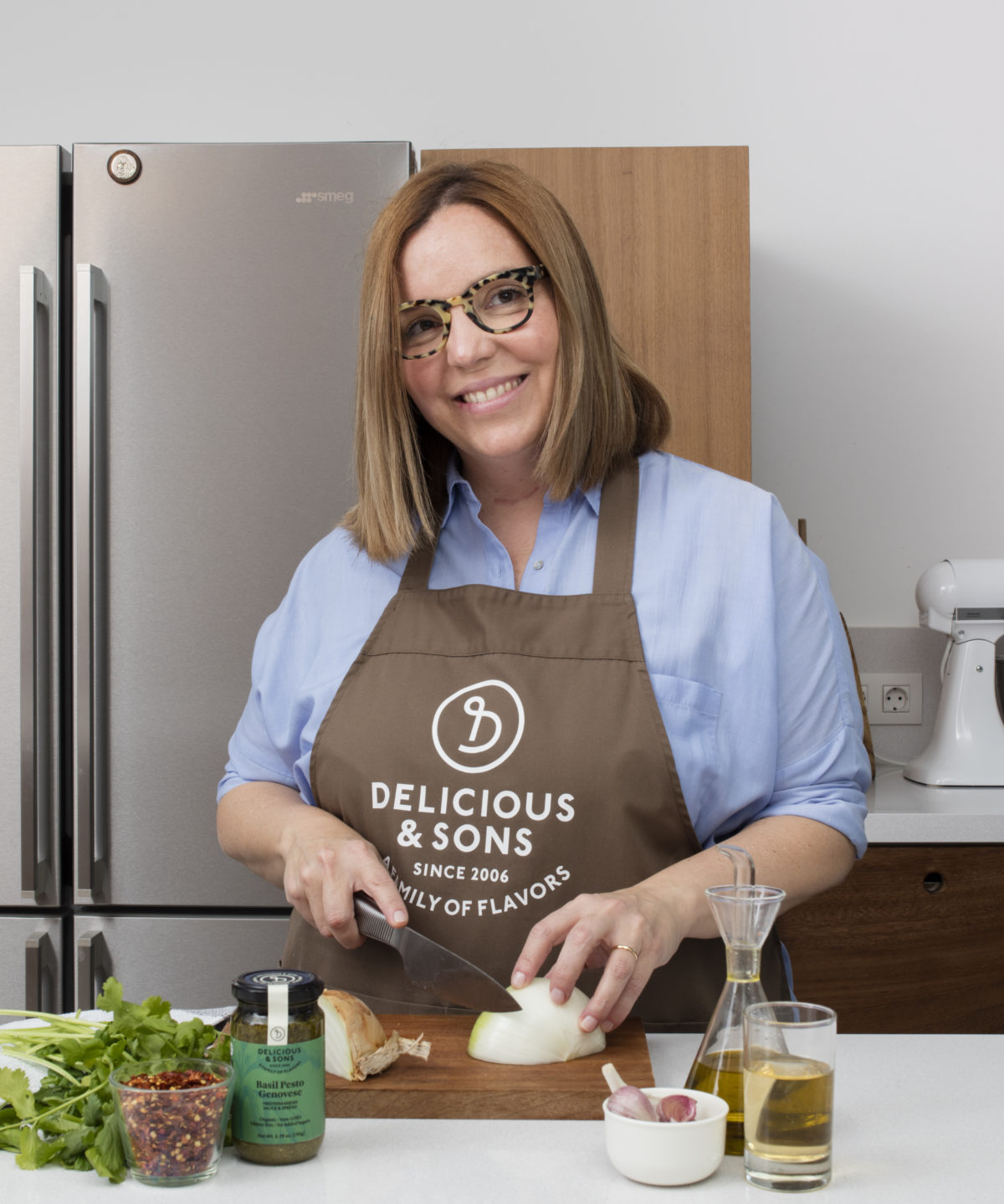 Cooking with Bárbara Bruno from Tiny Cottons — Delicious & Sons
