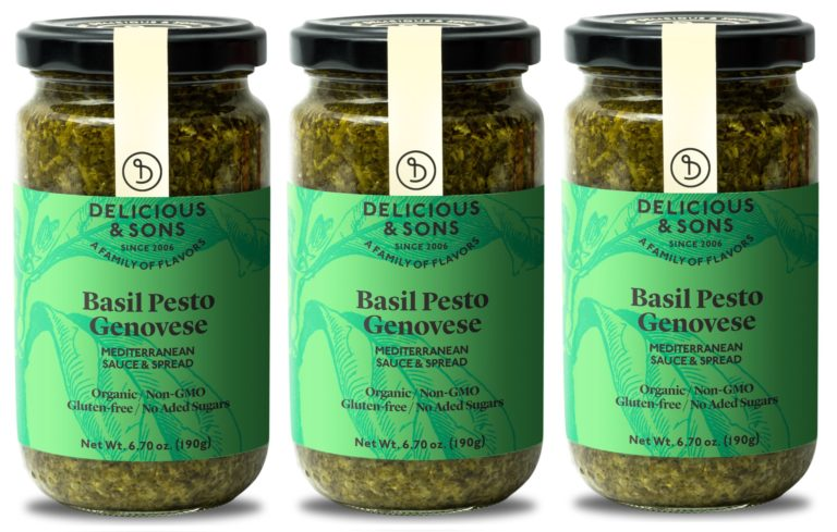 Organic Basil Pesto Genovese (Pack of 3) — Delicious & Sons