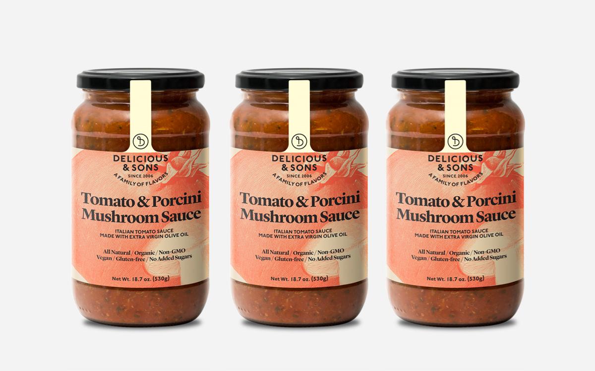pack tomato porcini mushroom