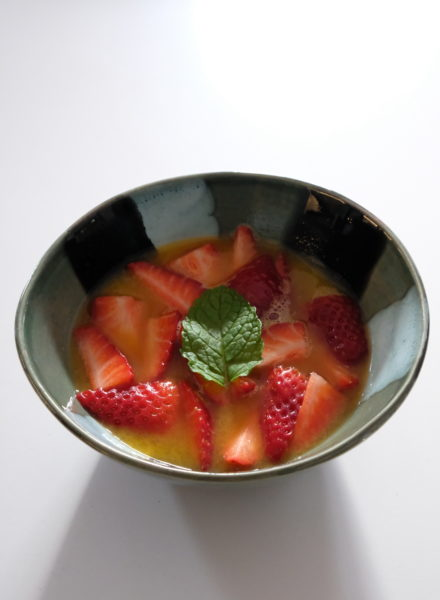 Strawberries-Orange-Juice