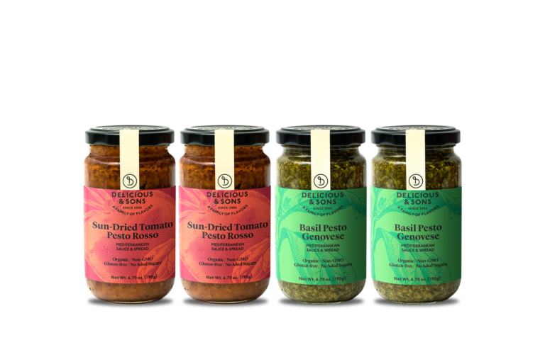Pesto Genovese & Pesto Rosso Sampler — Delicious & Sons