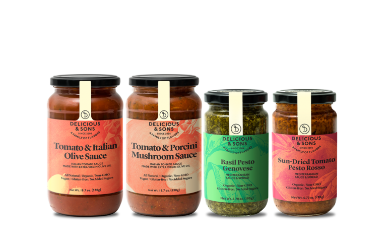 Italian Sauce Sampler [OUT OF STOCK IN USA] — Delicious & Sons