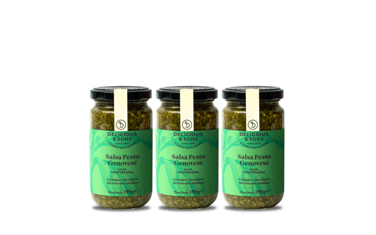 Salsa Pesto Genovese (Pack de 3) — Delicious & Sons