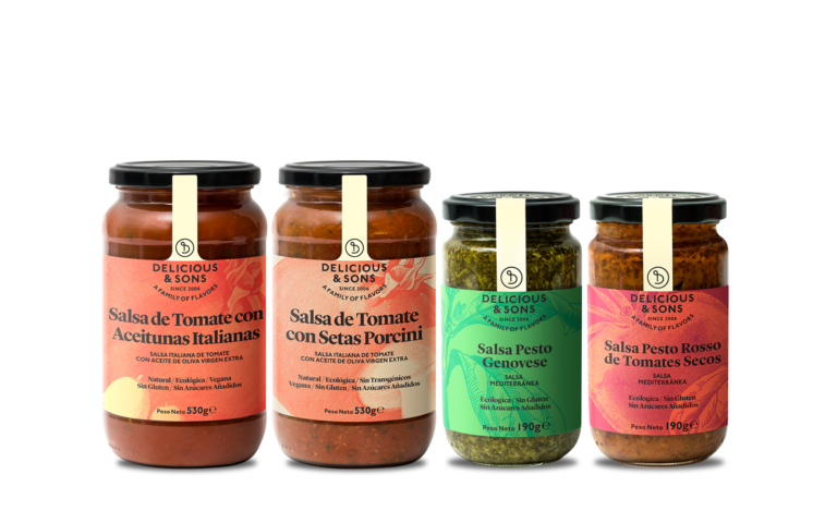 Pack de Salsas para Pasta — Delicious & Sons