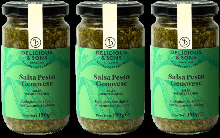 Salsa Pesto Genovese (Pack de 3) — Delicious & Sons