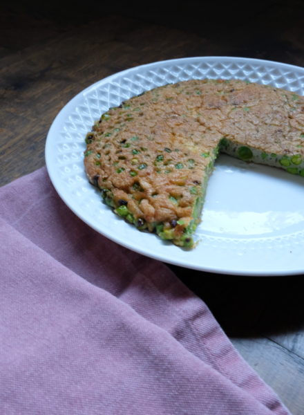 Green-pea-Pesto-Omelette