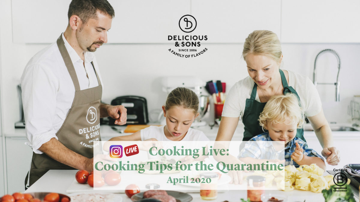 Now That We Can Start Going Out Again — Delicious & Sons