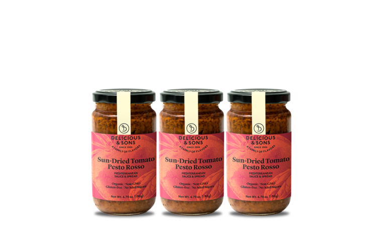 Organic Sun-Dried Tomato Pesto Rosso (Pack of 3) — Delicious & Sons