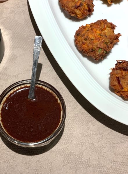 Tofu-Seaweed-Fritters-with-Spicy-Olive-Soy-Dipping-Sauce-by Ricky-Mandle-1