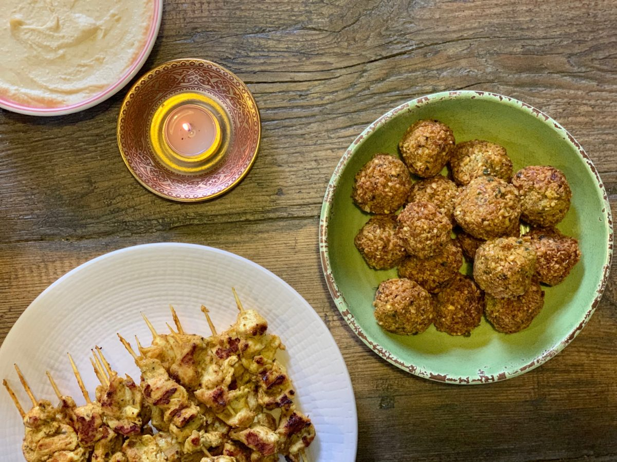 Falafel with Basil Aioli Inspired by Yotam Ottolenghi — Delicious & Sons