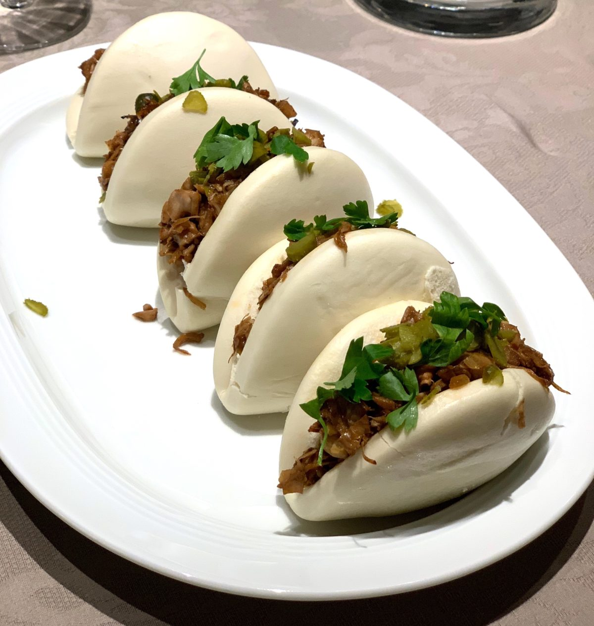 Jackfruit Baos by Ricky Mandle — Delicious & Sons