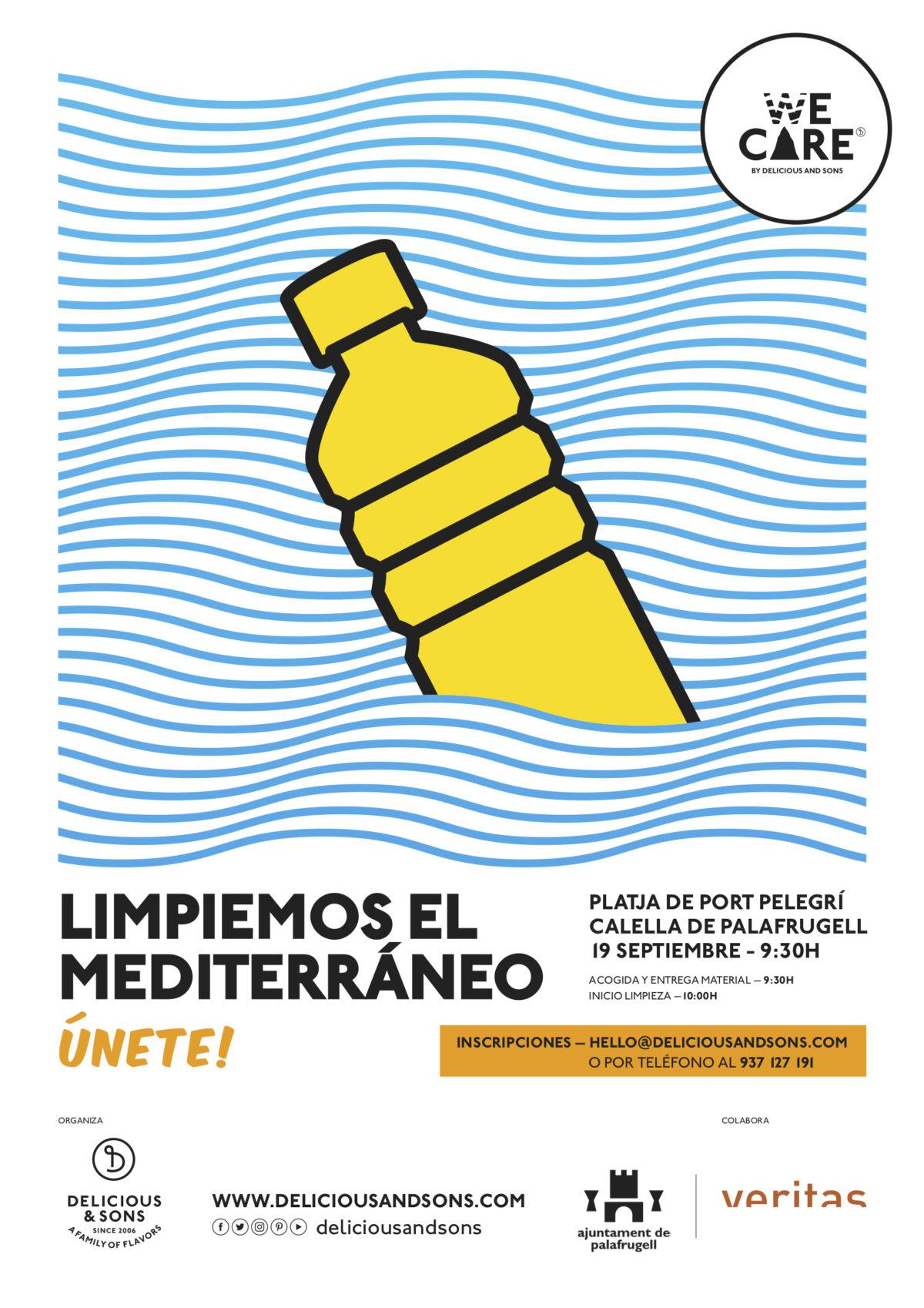 Inscripciones Abiertas – 2ª Limpieza del Mediterráneo 2020 — Delicious & Sons