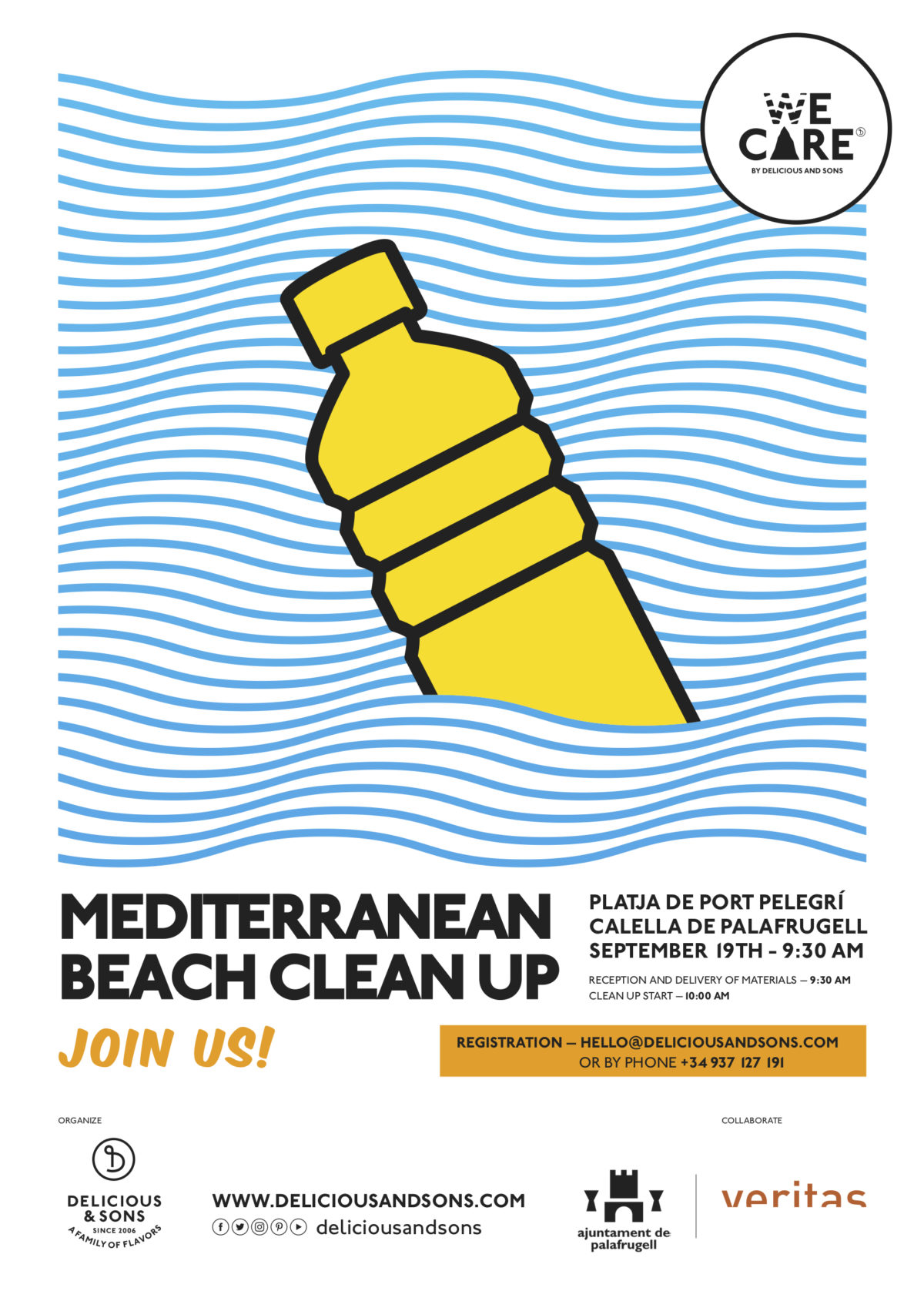 Registration Now Open – 2nd Annual Mediterranean Beach Cleanup 2020 — Delicious & Sons