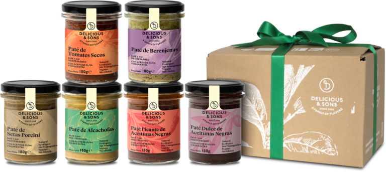 Pack Regalo Patés y Olivadas — Delicious & Sons