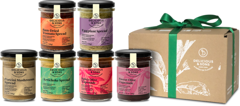 Gift Box – Spreads and Tapenades (SPAIN ONLY) — Delicious & Sons