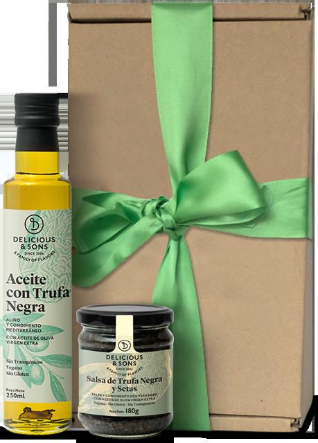 Pack Regalo Trufa Negra — Delicious & Sons