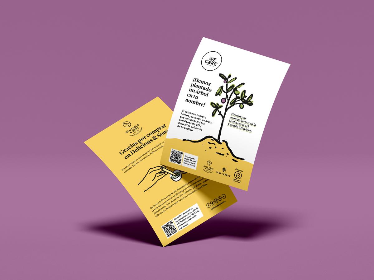 Plantamos Árboles por Cada Venta Online para un Mundo Mejor — Delicious & Sons