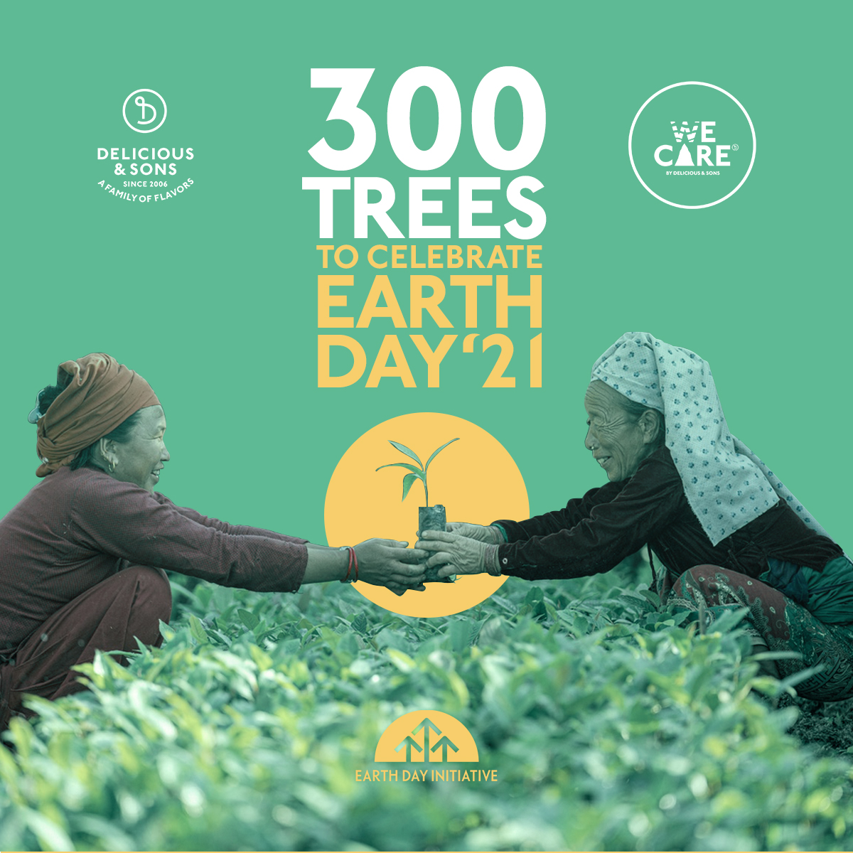 300 Trees for Earth Day 2021 — Delicious & Sons