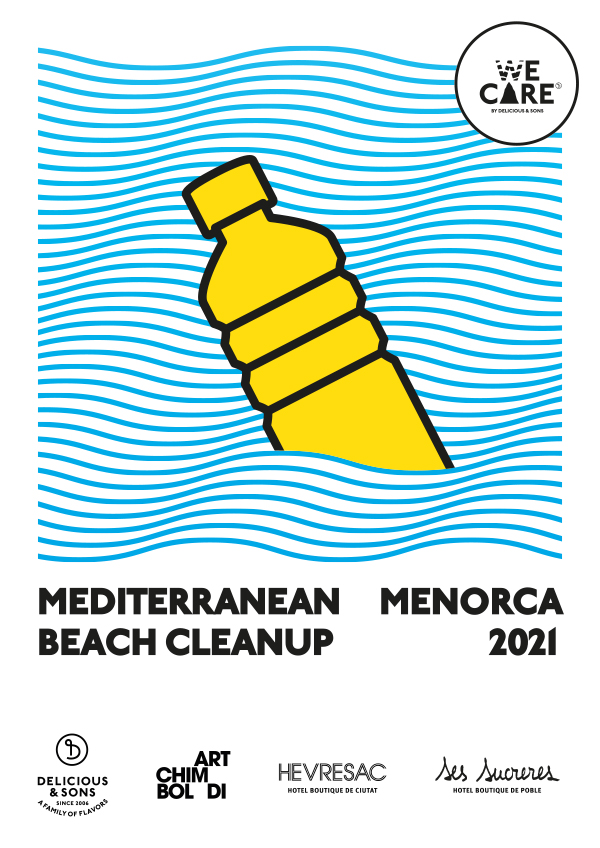 WE CARE: Let's clean up the Mediterranean from Menorca! — Delicious & Sons