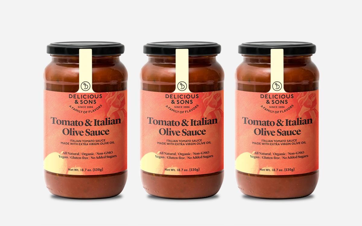 pack tomato italian olives